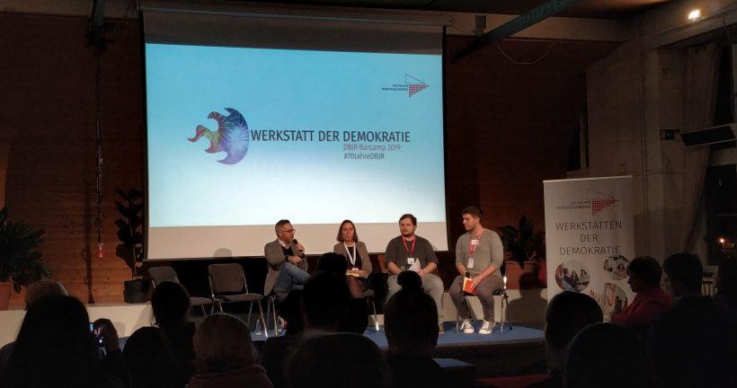 Update vom Wochenende – DBJR Hauptausschuss & Barcamp