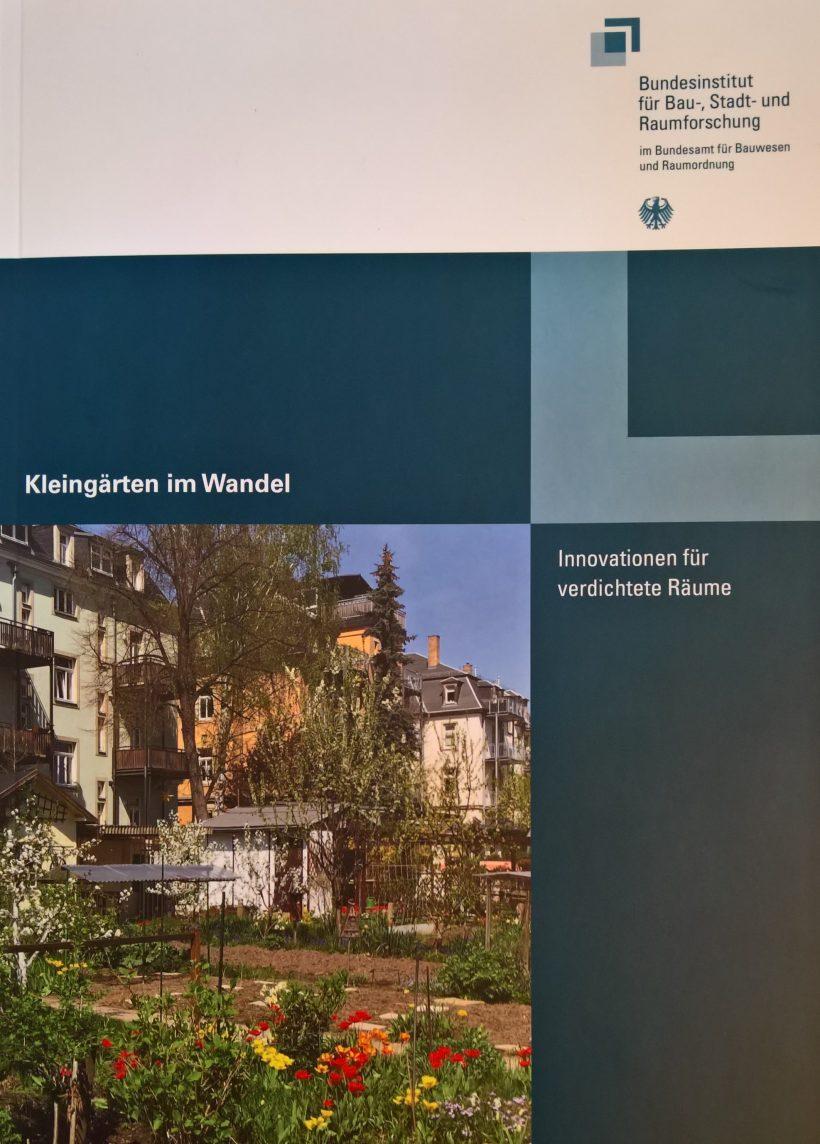 """Aktuelle Studie: """"Kleingärten im Wandel"""""""