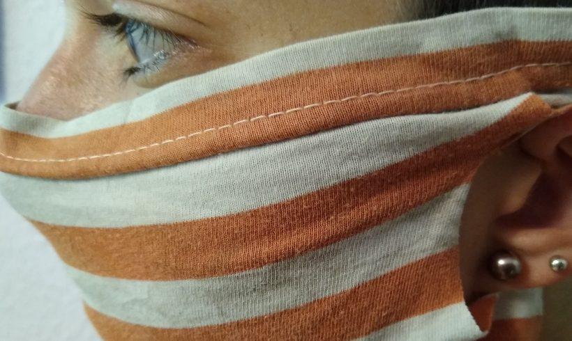 TIPP 12.08.2020: Pimp your old Shirt: der 2-Minuten-Mundschutz
