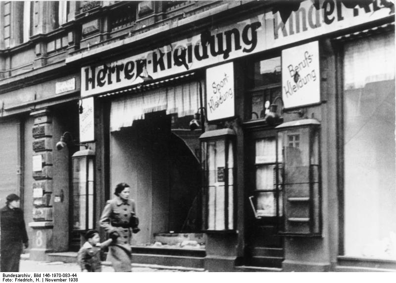 Kein Vergessen – Novemberpogrome 1938